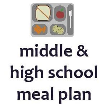 Picture of Middle School & High School 15 Block Meal Plan