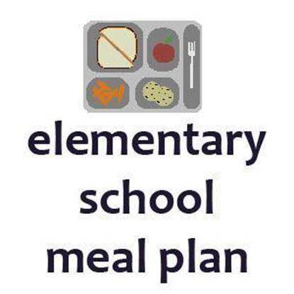 Elementary 3 Meals Per Week Meal Plan Fall